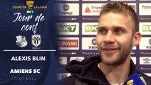 Après le match  Amiens SC - Angers SCO - Alexis Blin