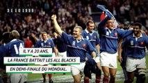 Il y a 20 ans - La France réalisait l'exploit face aux All Blacks!