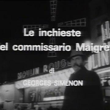 Le inchieste del commissario Maigret - Stagione 3 (1968) sigla iniziale (strumentale) Gino Cervi