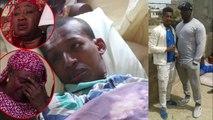 Ndeyssane  Les larmes de la famille d'un accompagnant d'Ama Baldé et de Sokh accidenté depuis... (2)