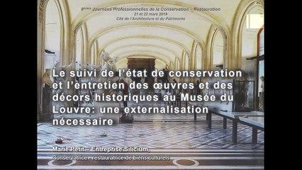 Le suivi de l'état de conservation et l'entretien des œuvres et des décors historiques au musée du Louvre _ une externalisation néce