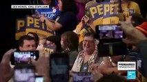 Primaires démocrates : Pete Buttigieg, le candidat gay de 38 ans en tête des premiers suffrages