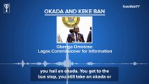 Okada&Keke Ban: Lagos Commissioner asks commuters to embrace walking