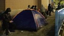 Coronavirus: desperate scenes as 10,000 queue for masks in Hong Kong