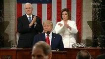 Nancy Pelosi Rips Trump's Speech