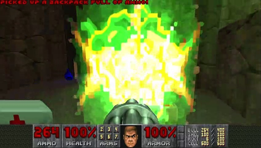 Doom II (1994) - MAP29: The Living End [4K 60FPS]   Godialy.com