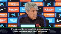 """Barça - Setién : """"J'avais placé beaucoup d'espoir en Dembélé"""""""