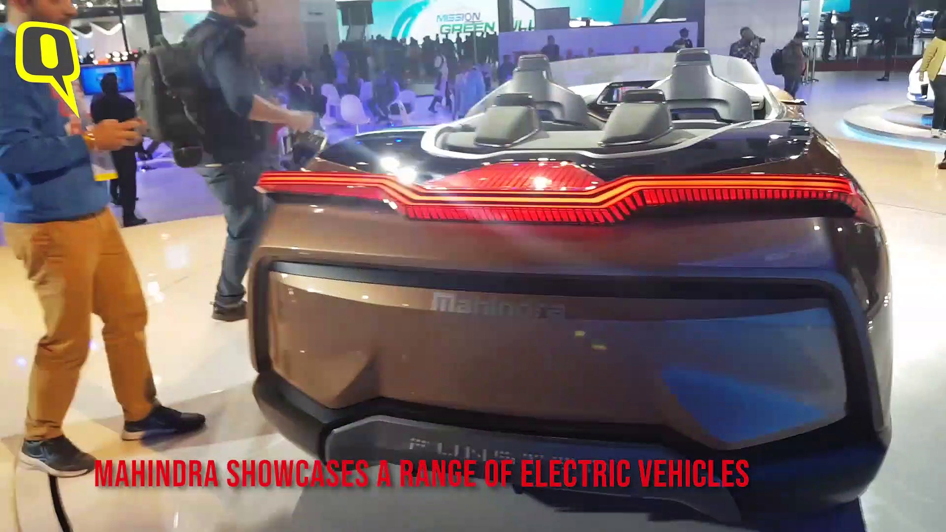 Mahindra Shows Its New Electric SUVs At Auto Expo 2020 | The Quint