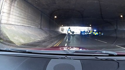 Police Stop car Queens Drive Ossett