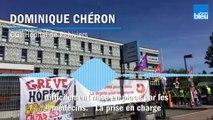 """""""Ce drame aurait pu être évité"""", pour Dominique Chéron (CGT hôpital de Pithiviers)"""