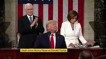 Etats-Unis : nouveau clash entre Nancy Pelosi et Donald Trump