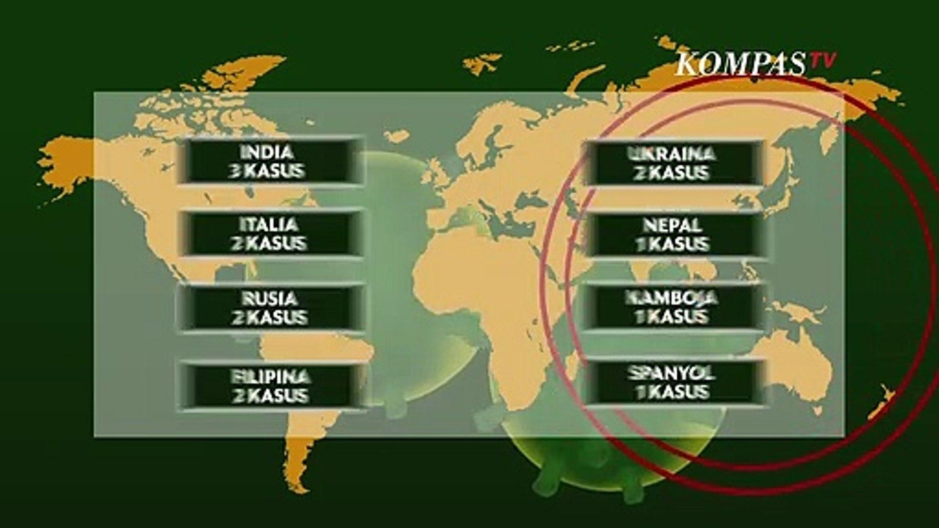 Data Terkini Wabah Virus Corona, Virus Terus Menyebar ke Beberapa Negara