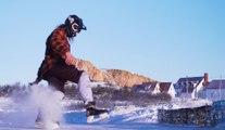 Red Bull Ice Cross à Percé (Quebec)