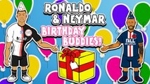 LOLs | Cristiano Ronaldo parties hard with Neymar Jr.