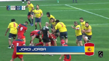 TOP TRIES - RUGBY EUROPE CHAMPIONSHIP 2020 - ROUND 1