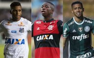 Os clubes brasileiros que mais usaram a base nos últimos cinco anos