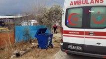 Yem makinesinin şaftına kapılan çocuk öldü