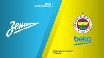 Zenit St Petersburg - Fenerbahce Beko Istanbul Highlights   Turkish Airlines EuroLeague, RS Round 23