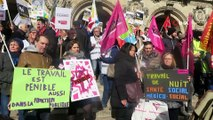 - Fransa'da kamu çalışanlarından emeklilik reformu protestosu- 'Macron hükümeti haklarımızı gasp etmek istiyor'