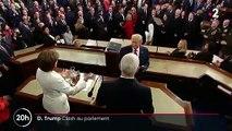 États-Unis : haine affichée entre Donald Trump et Nancy Pelosi