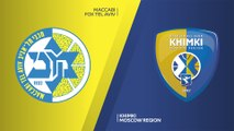 Maccabi FOX Tel Aviv - Khimki Moscow Region Highlights   EuroLeague, RS Round 23