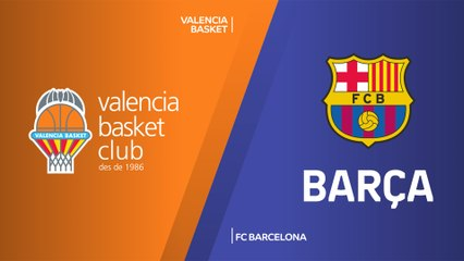 EuroLeague 2019-20 Highlights Regular Season Round 23 video: Valencia 76-77 Barcelona