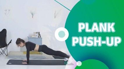 Plank Push-up - Du Bist Fit