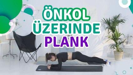 Önkol üzerinde plank - Sporcuyum