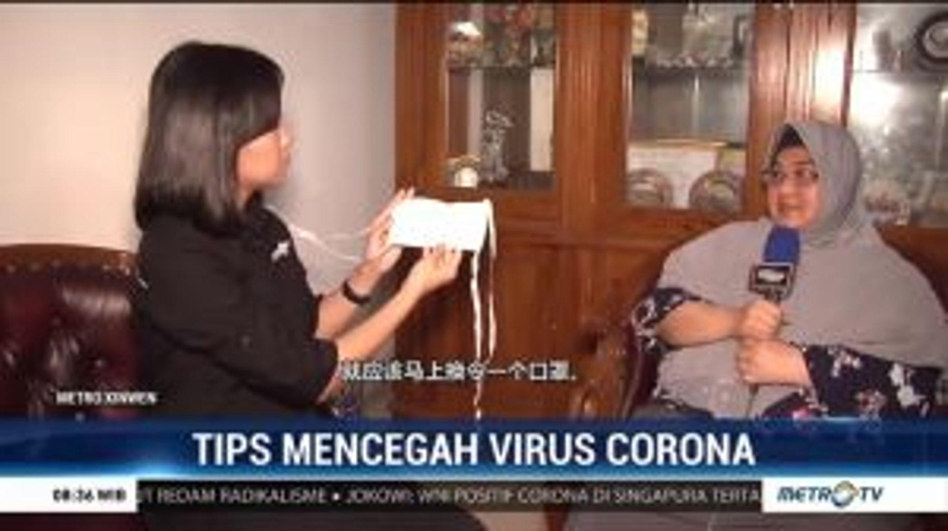 Tips Mencegah Virus Corona