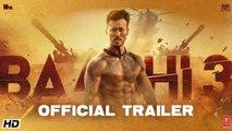 Baaghi 3 (Official Trailer) _Tiger Shroff, Shraddha Kapoor, Riteish Deshmukh   New Movie 2020 HD