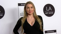 Leah Maria Klein 25th Annual LA Art Show Opening Night Gala Red Carpet