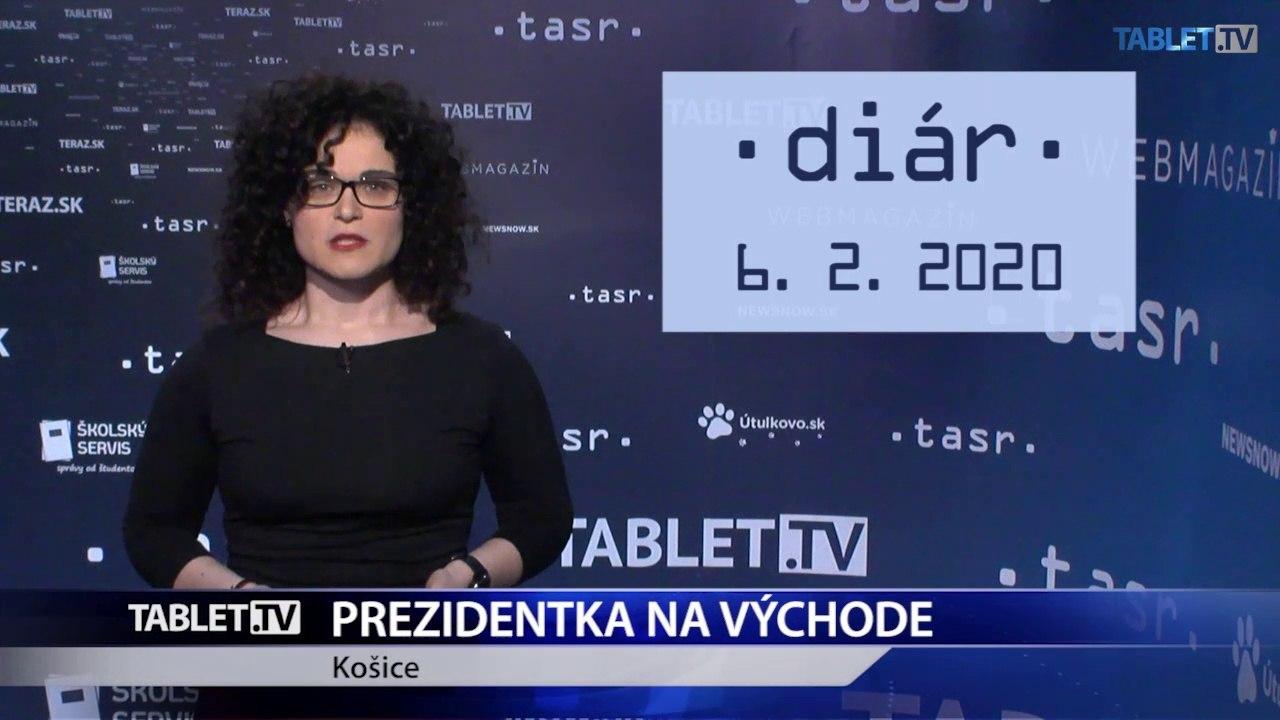 DIÁR: Prezidentka Z. Čaputová ide na výjazd do Košíc