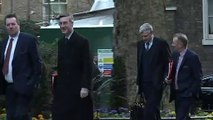 Members of the Cabinet arrive at Downing Street