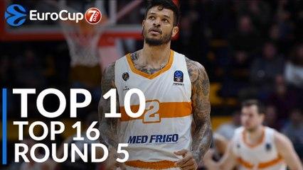 Top 16 Round 5 Top 10 Plays