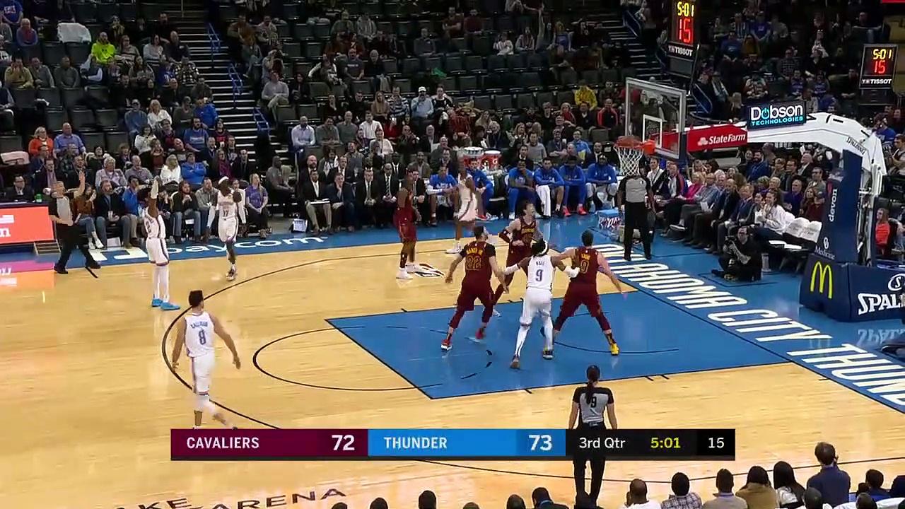 Cleveland Cavaliers 103 - 109 Oklahoma City Thunder