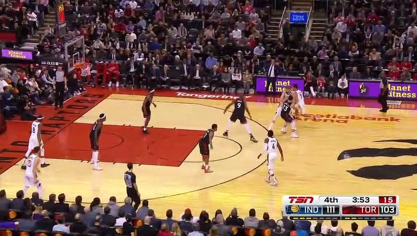 Indiana Pacers 118 - 119 Toronto Raptors
