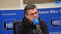"""L'invité de  France Bleu Matin est Arnaud Delepine: membre du collectif """"citoyen du tram"""" à St pierre des corps"""