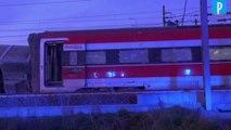 Un train déraille dans la région de Milan
