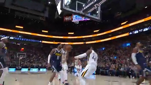 Denver Nuggets 98 - 95 Utah Jazz