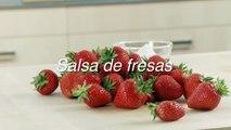 Receta de salsa de fresas