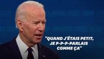 """Joe Biden a vaincu son bégaiement, ce """"handicap dont on se moque encore"""""""
