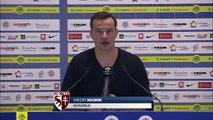 Montpellier - Metz, la réaction des coaches
