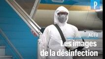 Coronavirus : en Asie, les images de désinfection massive des rues, gares, hôpitaux...