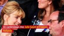 Un cambriolage chez Julie Gayet et François Hollande