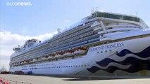 Novos casos de coronavírus detetados no cruzeiro no Japão