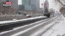 Coronavirus: une vidéo de Pékin transformée en ville fantôme