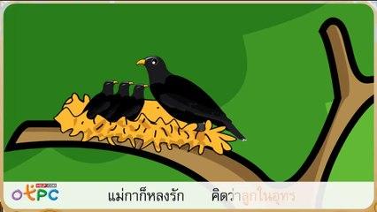 สื่อการเรียนการสอน นกกาเหว่า ป.2 ภาษาไทย