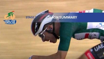 Saudi Tour 2020 - Étape 3 / Stage 3 - Flash summary