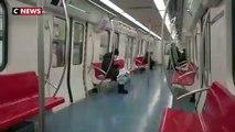 Coronavirus:La ville de Pékin transformée en ville fantôme - VIDEO