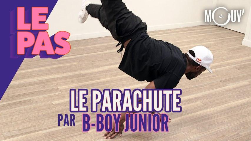 """Le tuto du """"Parachute"""" par B-Boy Junior"""